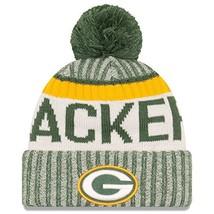 Era Knit Green Bay Packers Gray On Field Sideline Sport Knit Winter Stoc... - $31.49