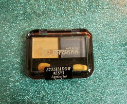 Jordana Eyeshadow Duo #ES/31 Apricotta/Smoke New Sealed Made Usa - $7.25