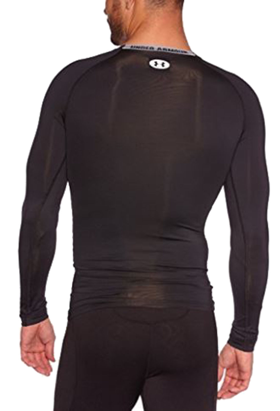 Under Armour Heat Gear Sonic Compression Long Sleeve Top - Small - Black