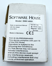 SWH-4000 Multi-Technology Wiegand Output Reader 125Khz & 13.56Mhz - $64.99