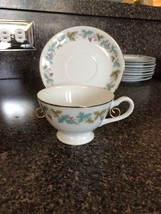 FINE CHINA JAPAN 6701 VINTAGE CUP AND SAUCERS (3) - $7.20