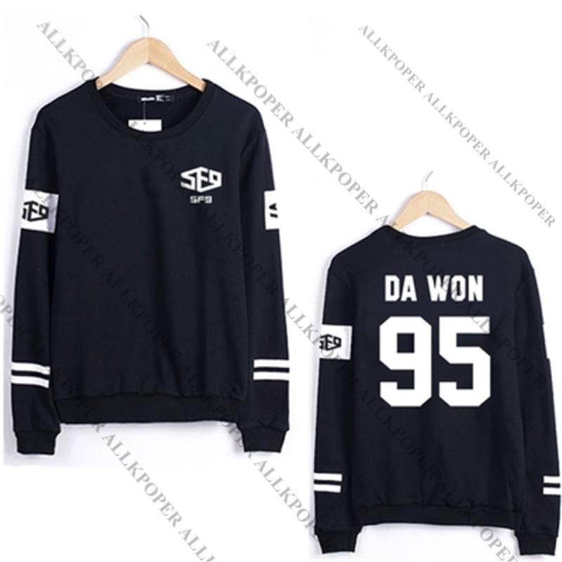 Kpop SF9 Fanfare Sweater Fare Sweatershirt Feeling Sensation Pullover Hoodie