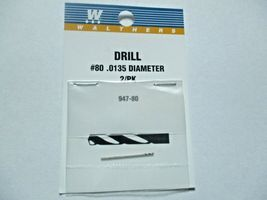 Walthers 947-80  Walthers # 80 /.0135 Diameter  Drill Bit 2 pack image 3
