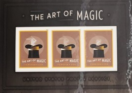 Art of Magic Motion USPS 2018 Souvenir Forever Stamp Sheet of Three - $2.75