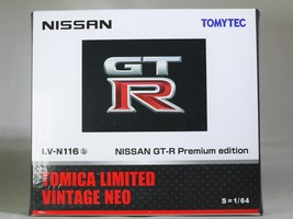 Tomica limited tomytec nissan gt r premium edition lv n116b   wht   09 thumb200