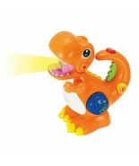Recording and Voice Changing Dinosaur with Flashlight Orange - $24.74