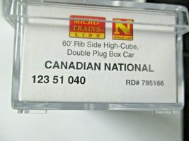Micro-Trains # 99301870 Canadian National 60' High Cube Boxcar 3/Pack N-Scale image 8