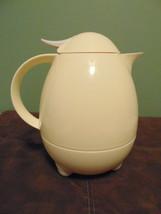 Vintage Modern Egg Shaped Thermal Caraffe LeIFHEIT Columbus German Slany... - $29.99