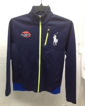 Ralph Lauren Boys' Double Knit Ball Boy Jacket, Navy, Size L, MSRP $95 - $39.59