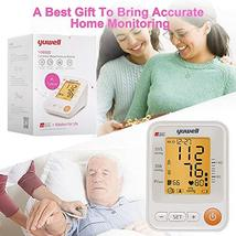 Yuwell Talking Blood Pressure Monitor Upper Arm,22-45cm Cuff,Large Backlight LCD image 7