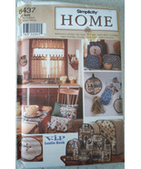Simplicity Home Appliance Covers, Tea Cozy Hot Pad More #8436 Uncut - $4.99
