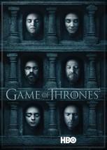 Game of Thrones Season 6 Promo Hall of Faces Image Refrigerator Magnet U... - $3.99