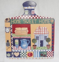 Home Sweet Home Folk Art Cutting Board Wall Han... - $14.25