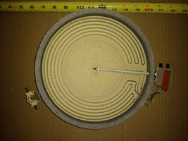 """9FF71 CERAMASPEED BURNER, 240VAC: 230T7-L5665R, 700 / 2200W, 9"""" DIAMETER... - $29.69"""