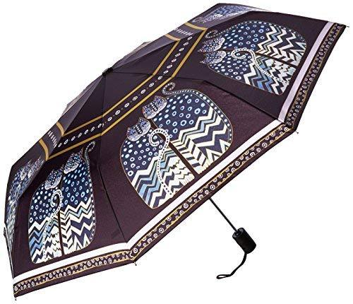 Laurel Burch Compact Umbrella Canopy Auto Open/Close, 42-Inch, Polka Dot Cats