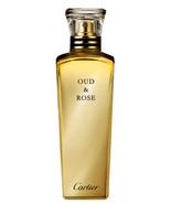OUD & ROSE by CARTIER 5ml Travel Spray Perfume Agarwood Oudh Aoud Parfum - $30.00