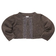NWT Carter's Infant Girls 3 6 9 M Months Gray Gold Sparkle Knit Cardigan... - $9.99