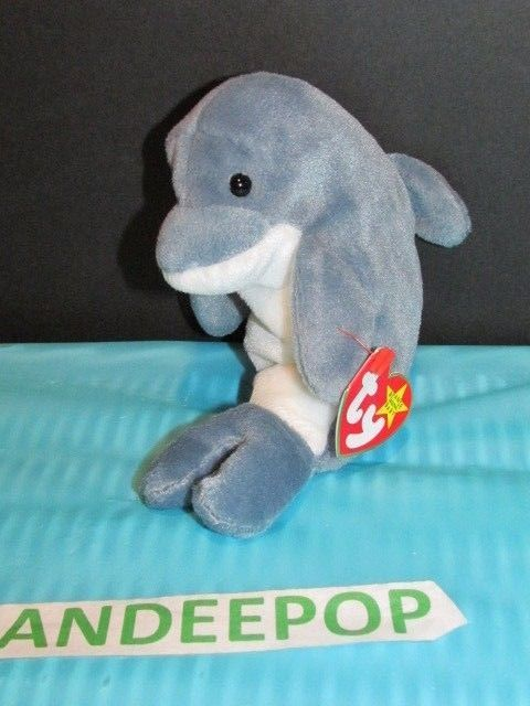 1a8ef3a65a5 TY Retired Beanie Baby Echo Dolphin 1996 Ty and similar items. S l1600