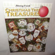 Christmas Tree Treasures Cross Stitch Leaflet 307 Stoney Creek Patterns ... - $10.99