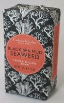 Crabtree & Evelyn BLACK SEA MUD SEAWEED Triple Milled Soap Bar 5.6 oz - $11.83
