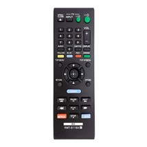 rmtb118a rmt-b118a replaced remote fit for sony dvd/blu-ray player bdp-bx18 bdp- - $14.99