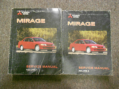 1998 MITSUBISHI Mirage Service Repair Shop Manual SET FACTORY OEM BOOK 98 DEAL