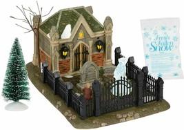 Dept 56 Dickens Village Christmas Carol Cemetery 6000601 BRAND NEW - $142.49
