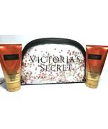 Victoria's Secret 2 Passion Struck Lotion Travel Size VS Sequin Bag Set NWT - $20.36