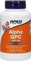 NOW Supplements, Alpha GPC 300 mg with Bioavailable Source of Choline 60Capsules - $26.67
