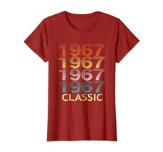 Uncle Shirts -   Vintage Classic 1967 Shirt 51st Birthday Gifts For Men Women Wo image 1