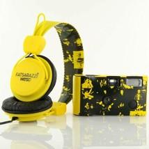WeSC X Fatsarazzi Collab Premium Headphones + disposable Camera B105504205 NIB image 1
