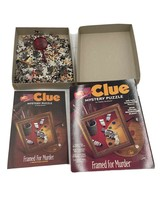 clue mystery puzzle dramed for murder - $12.00