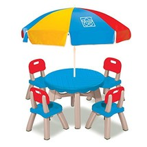 Grow'n Up Patio Set with 4 Chairs and Umbrella - €115,74 EUR
