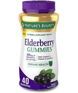 Nature's Bounty Elderberry Gummies, Contains Vitamin A, C, D, E and Zinc... - $25.95