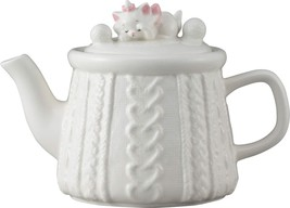 Disney Arist cat Marie Teapot 450 ml White cafe carne - $64.35