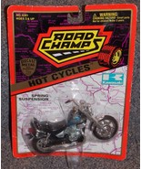 1996 Road Champs Hot Cycles Kawasaki Vulcan Motorcycle 1:18 Scale New In... - $11.99