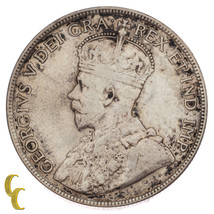 1916 Canada 50 Cents Silver Coin in VF, KM# 25 - $74.25