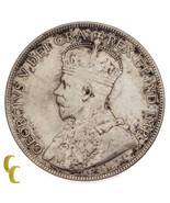 1916 Canada 50 Cents Silver Coin in VF, KM# 25 - €60,61 EUR