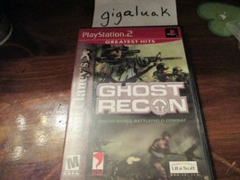 Tom Clancy's Ghost Recon Greatest Hits (Tested and working) - $5.00