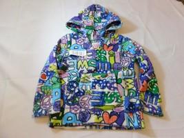 The Children's Place Girls Long Sleeve Fleece Hoodie Purple Multi Size Variation - $24.74
