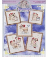 Dreamsicles Book 7 Angels Cherubs Cross Stitch Pattern Booklet 5 Designs - $7.17