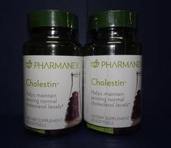 Two pack: Nu Skin Nuskin Pharmanex Cholestin 30 Softgels SEALED x2 - $107.00