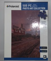 "Polaroid Granite Marvel 500 Piece Jigsaw Puzzle Lighthouse 11"" x 18.25"" New - $9.89"