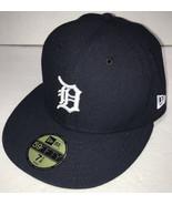 NEW Detroit Tigers New Era Hat Mens 7 1/8 On-Field Baseball Cap 5950 59F... - $32.33