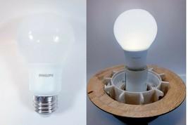 Lot Of 4 Philips Led A19 Light Bulb - Medium Base - 5W - Day Light - $9.89