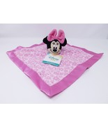 Disney Baby Minnie Mouse Pink Security Blanket Snuggle - New - $16.14