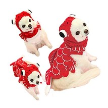 FLAdorepet Funny Halloween Dog Giraffe Costume Outfits Clothes Winter Wa... - $16.38