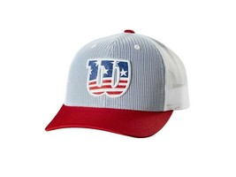WILSON 2020 USA PRINTED SNAPBACK HAT ADULT - $24.26