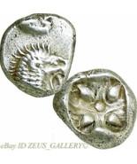 LION / Star 500 BC Ionia Miletos mint XF Early Ancient Archaic Greek Sil... - $170.10