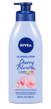 NIVEA Oil Infused Body Lotion Cherry Blossom and Jojoba Oil, 16.9 Fluid ... - $10.79